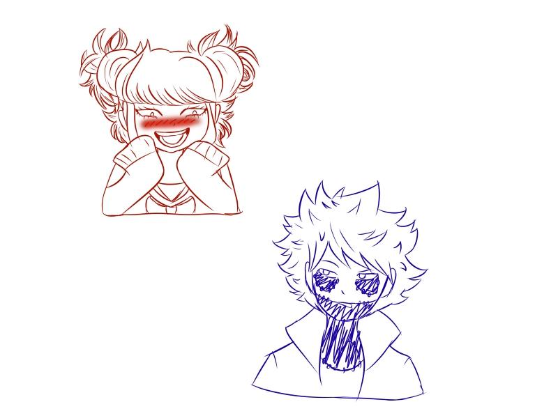 Dabi and Toga Sketch.jpg