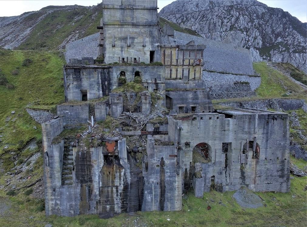 Great Britain Trefor Quarry Wales Oblivion State
